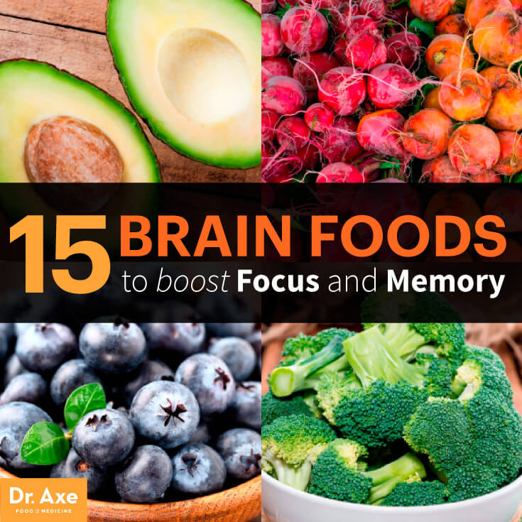 Food Good For Brain Concentration